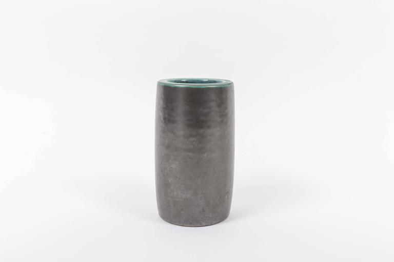 Mid-Century Modern Ceramic Vase from Vallauris, Signed 'Vallauris Musarra' on Bottom For Sale