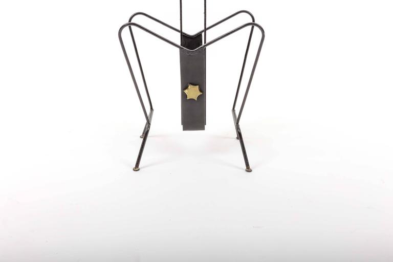 Magazine Stand by Jacques Adnet 9