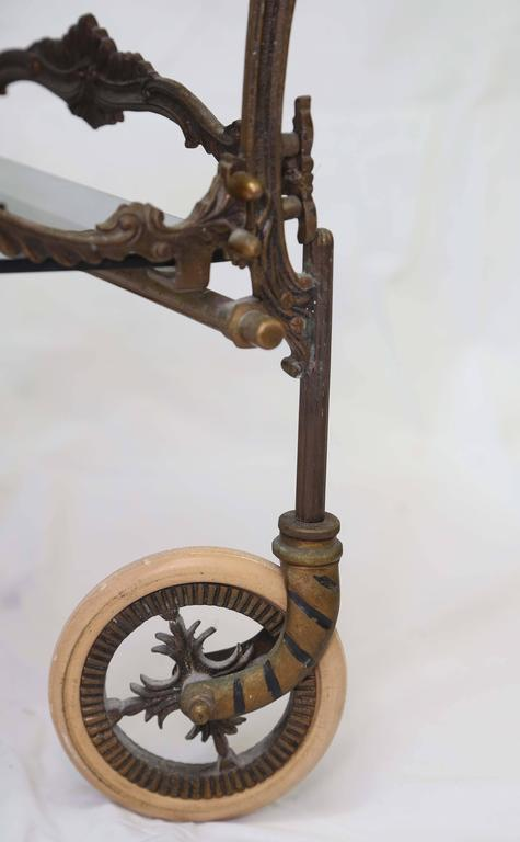 Libyan Arab Jamahiriya Bronze Barcart, Daliesque, Aesthetic Movement, Russia, Middle East, Spain For Sale