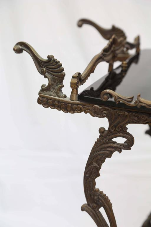 Bronze Barcart, Daliesque, Aesthetic Movement, Russia, Middle East, Spain For Sale 1