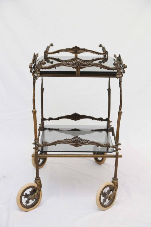 Bronze Barcart, Daliesque, Aesthetic Movement, Russia, Middle East, Spain For Sale 4