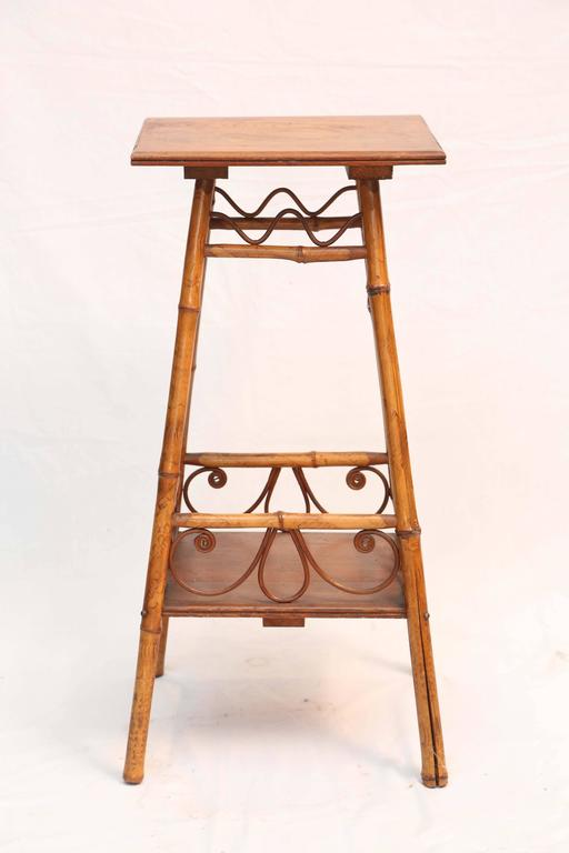 Superb 19th Century Bamboo Stand 2