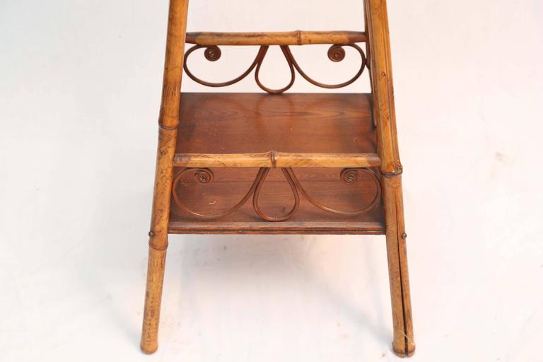 Superb 19th Century Bamboo Stand 4