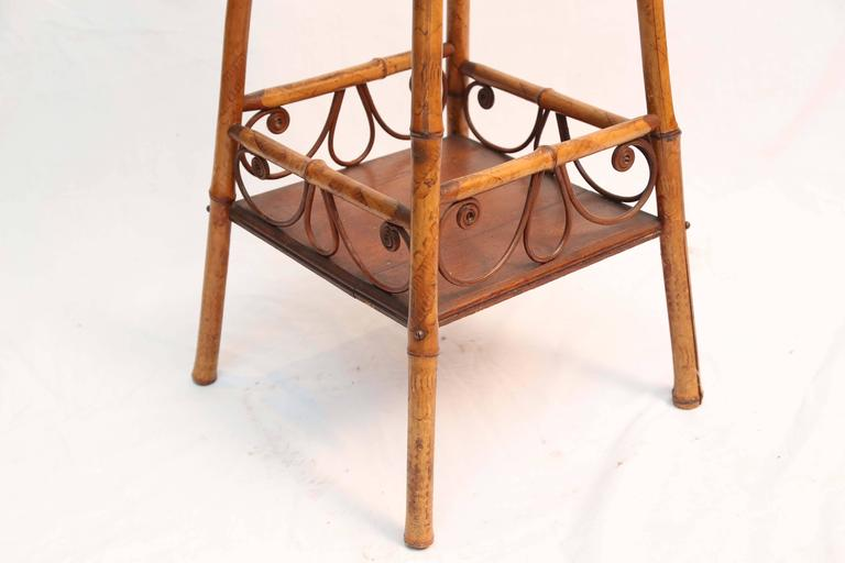 Superb 19th Century Bamboo Stand 6
