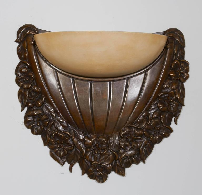 Wall Sconces Deco : Art Deco Wall-Sconces For Sale at 1stdibs