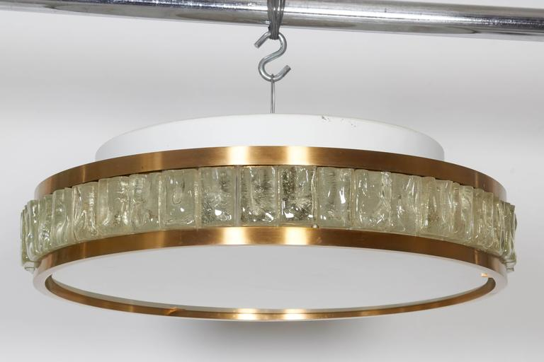 Art Deco Perzel Ceiling Fixture For Sale