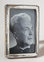 W.J. Myatt & Co., Ltd. English Art Deco Sterling Silver Photograph Frame