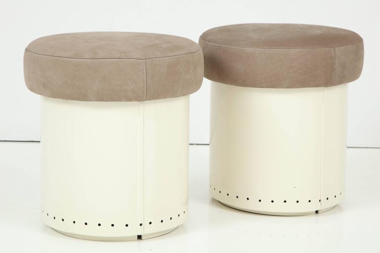 French Cylinder Stools 4