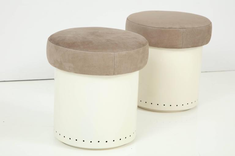 French Cylinder Stools 6