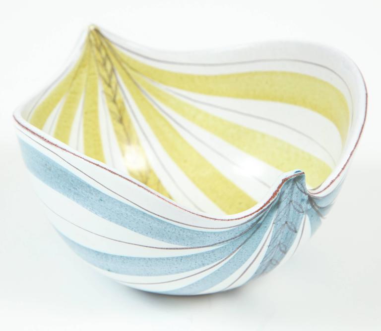 Ceramic Bowl, Stig Lindberg, Sweden, C 1950 2