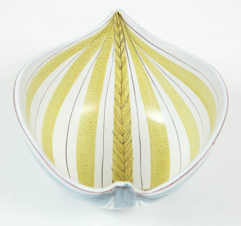 Ceramic Bowl, Stig Lindberg, Sweden, C 1950 3