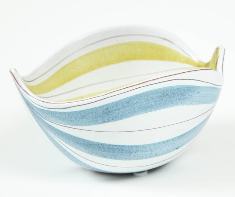 Ceramic Bowl, Stig Lindberg, Sweden, C 1950 5
