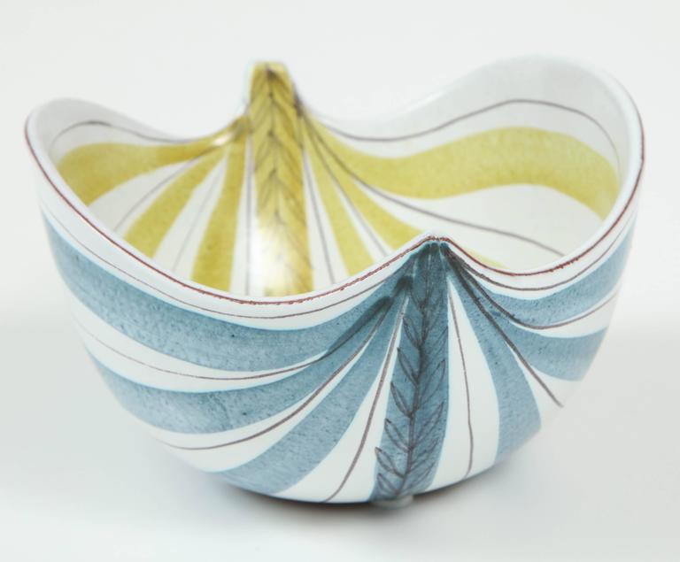 Ceramic Bowl, Stig Lindberg, Sweden, C 1950 7