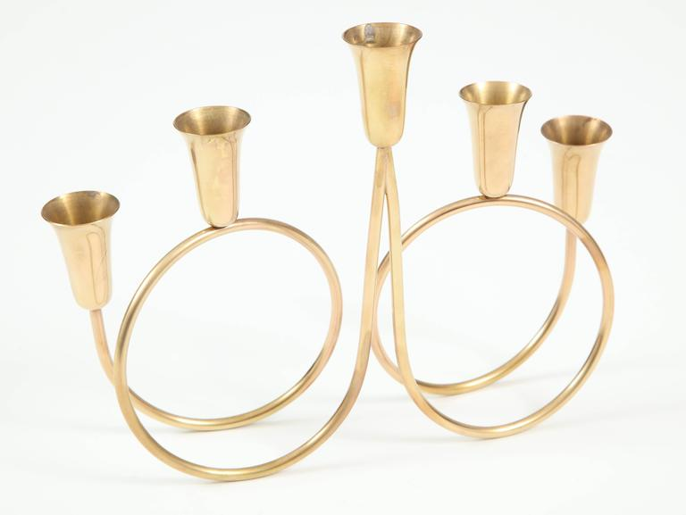Candle Holder, Brass 5