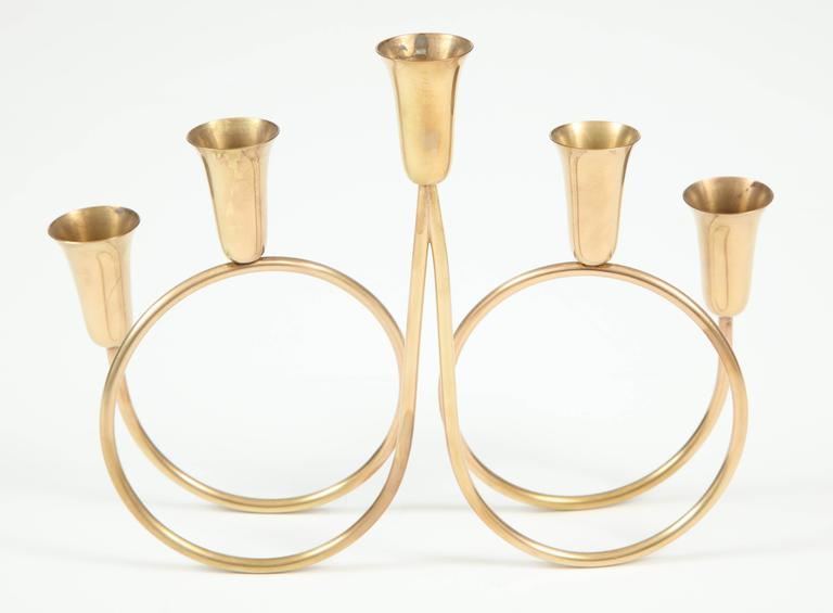 Candle Holder, Brass 6
