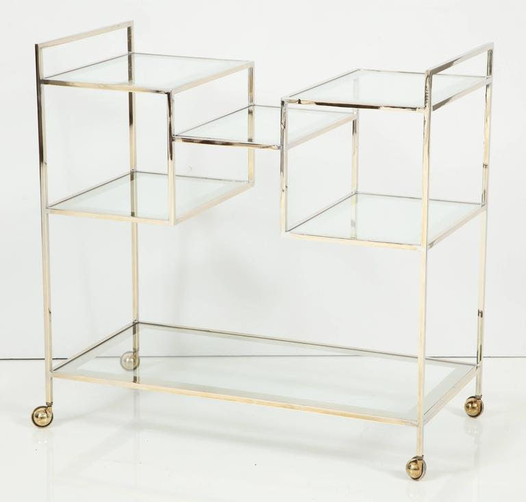 Mid-Century Modern Bar Cart For Sale