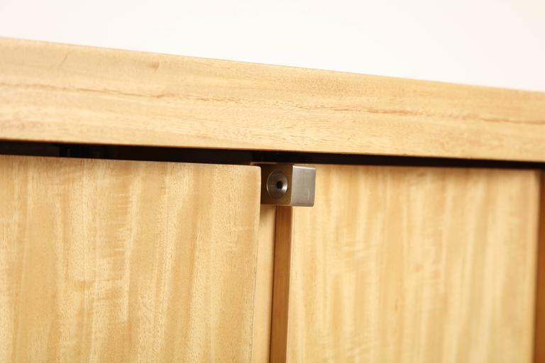 Rare Custom Jay Spectre Bleached Mahogany Sideboard, circa 1984 9