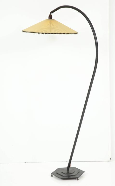 this danish painted metal arc floor lamp circa 1940s is no longer. Black Bedroom Furniture Sets. Home Design Ideas