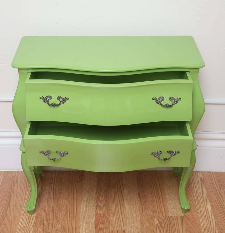 Louis XV Italian Two-Drawer Bombay Commode For Sale