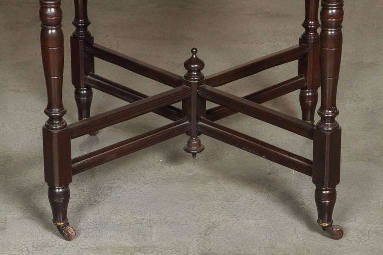 19th Century Walnut Game Table Set At 1stdibs
