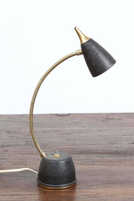 1950s Gooseneck Desk Small Table Lamp For Sale At 1stdibs