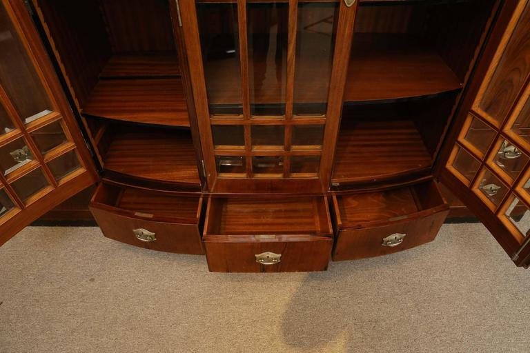 Hungarian Credenza or Bookcase in Palisander Wood from Art Deco period For Sale 4