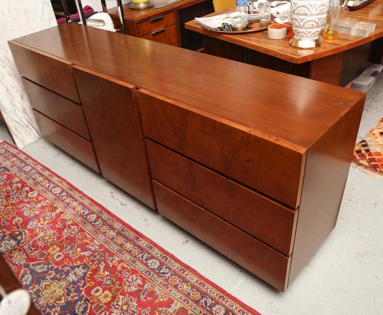 La Credenza Olives : Roland carter for lane olive wood burl dresser or credenza usa