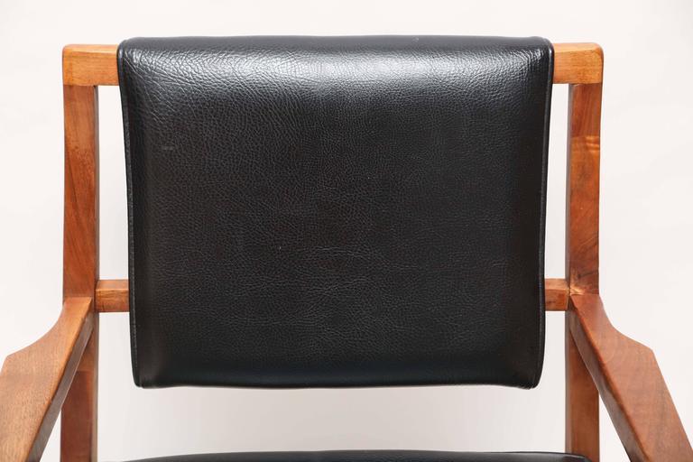 Pair of Mid-Century Modern Danish Teak Armchairs, 1960s, Denmark In Good Condition For Sale In Miami, FL