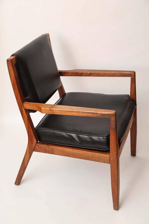 Mid-20th Century Pair of Mid-Century Modern Danish Teak Armchairs, 1960s, Denmark For Sale