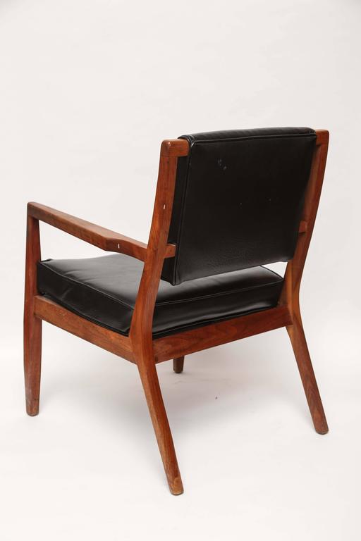 Pair of Mid-Century Modern Danish Teak Armchairs, 1960s, Denmark For Sale 3