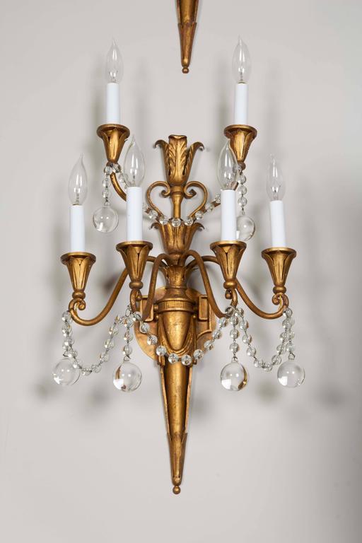 Pair of Louis XVI Style Bras de Lumière 4