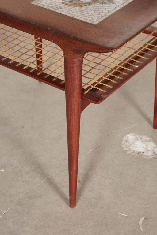 Mid Century Side Table by Johannes Andersen, Pair 4