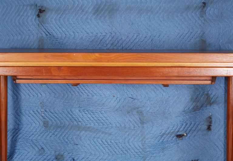 Oiled Danish Teak Dining Table by Johannes Anderson For Sale