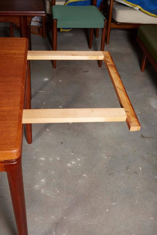 Danish Teak Dining Table by Johannes Anderson 6