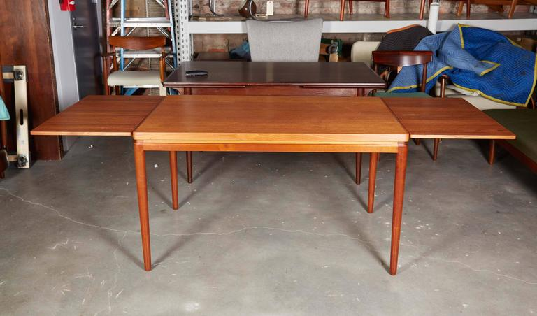 Danish Teak Dining Table by Johannes Anderson For Sale 1