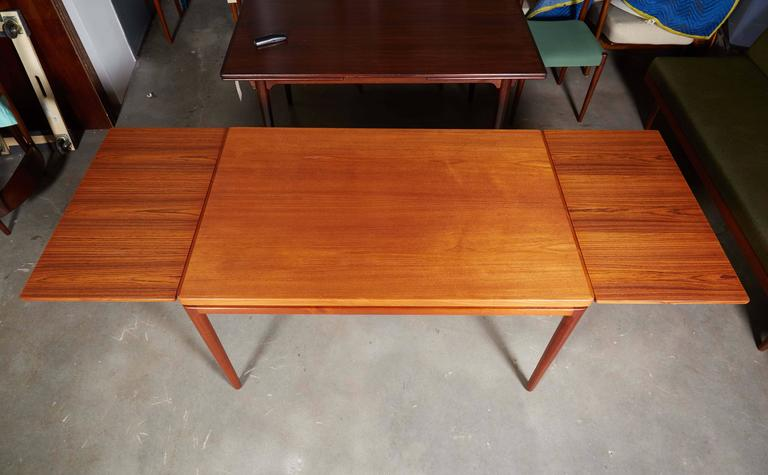 Danish Teak Dining Table By Johannes Anderson For Sale At