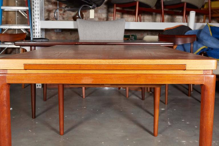 Danish Teak Dining Table by Johannes Anderson For Sale 4