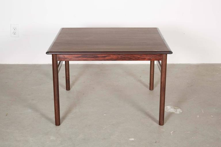 Rosewood Square Side Table 2