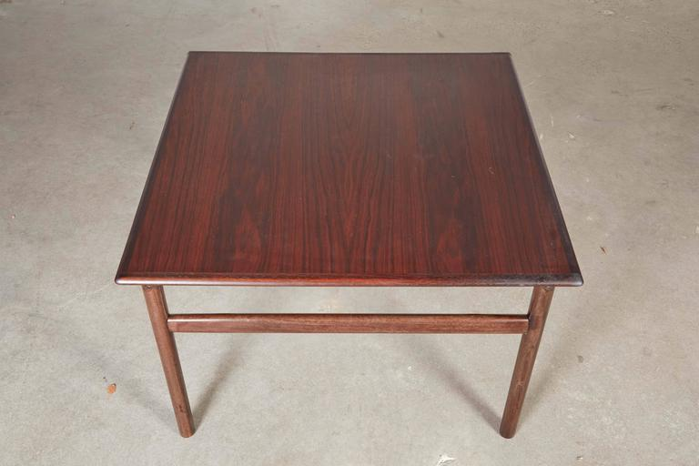 Rosewood Square Side Table 4