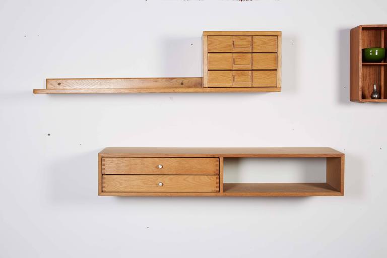 Floating Wall Shelf by Kai Kristiansen 2
