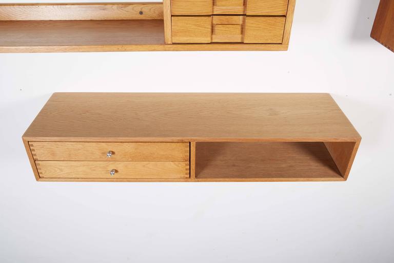 Floating Wall Shelf by Kai Kristiansen 10