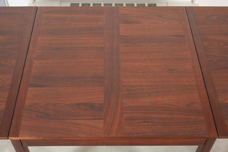 Rosewood Drop Leaf Dining Table by Kai Winding 2