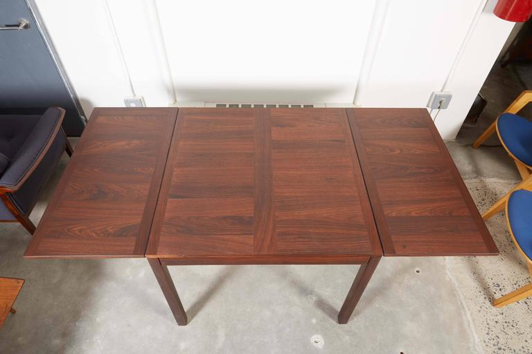 Rosewood Drop Leaf Dining Table by Kai Winding 3