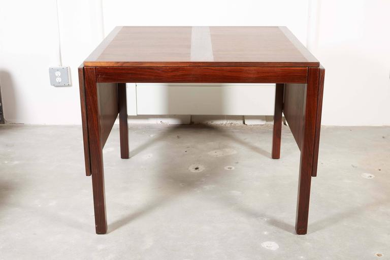 Rosewood Drop Leaf Dining Table by Kai Winding 5