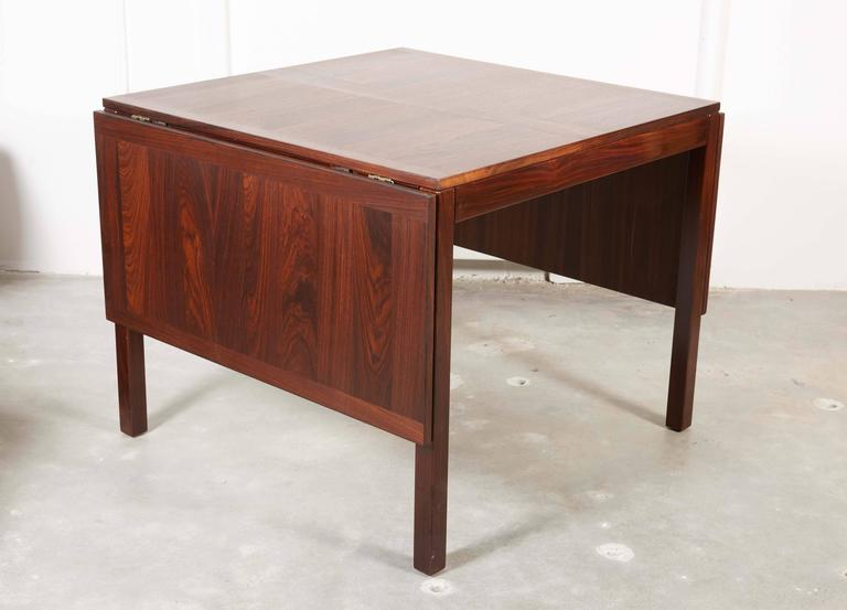 Rosewood Drop Leaf Dining Table by Kai Winding 6