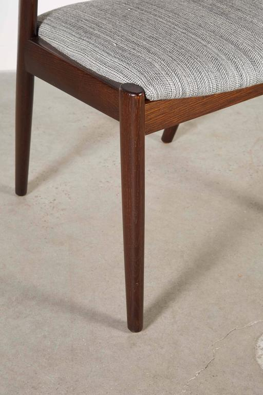 Danish Kai Kristiansen 42 Dining Chair, Set of 3 3