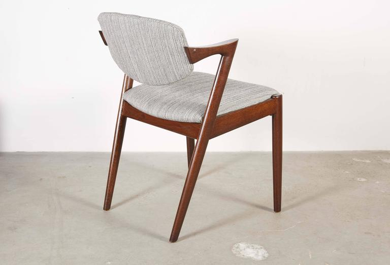 Danish Kai Kristiansen 42 Dining Chair, Set of 3 5
