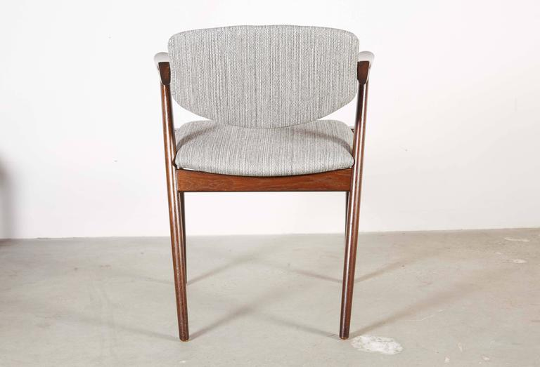 Danish Kai Kristiansen 42 Dining Chair, Set of 3 6