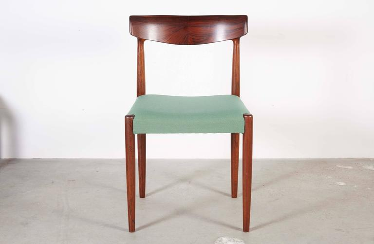 Danish Dining Chairs by Knud Faerch, set of 6 4
