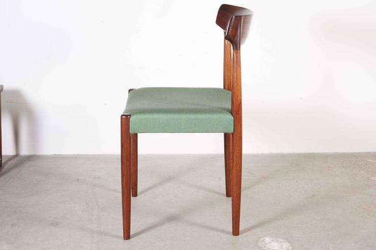 Danish Dining Chairs by Knud Faerch, set of 6 5